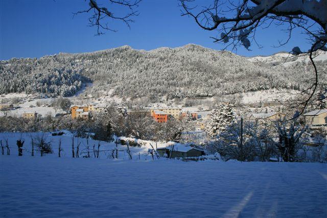 Popolano e la neve